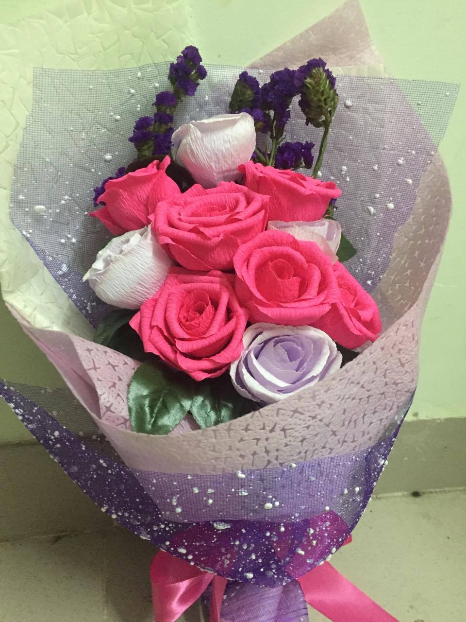 Kiệt tác Hoa hồng Handmade