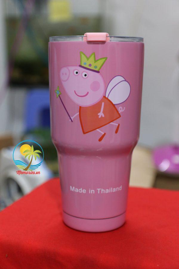 Ly giữ nhiệt Yeti Thái Lan 900ml, micky, doraemon, đội bóng, Cucci, Totoro, Apple, nàng tiên cá, MU, Chealsea, Minion, Captain Bình cách nhiệt