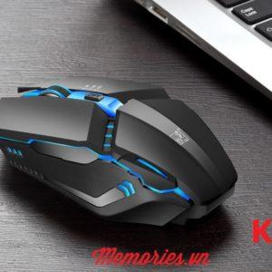 Chuột máy tính (PC/Laptop) chơi game K1/K2/K3 dây USB có đèn LED 7 màu
