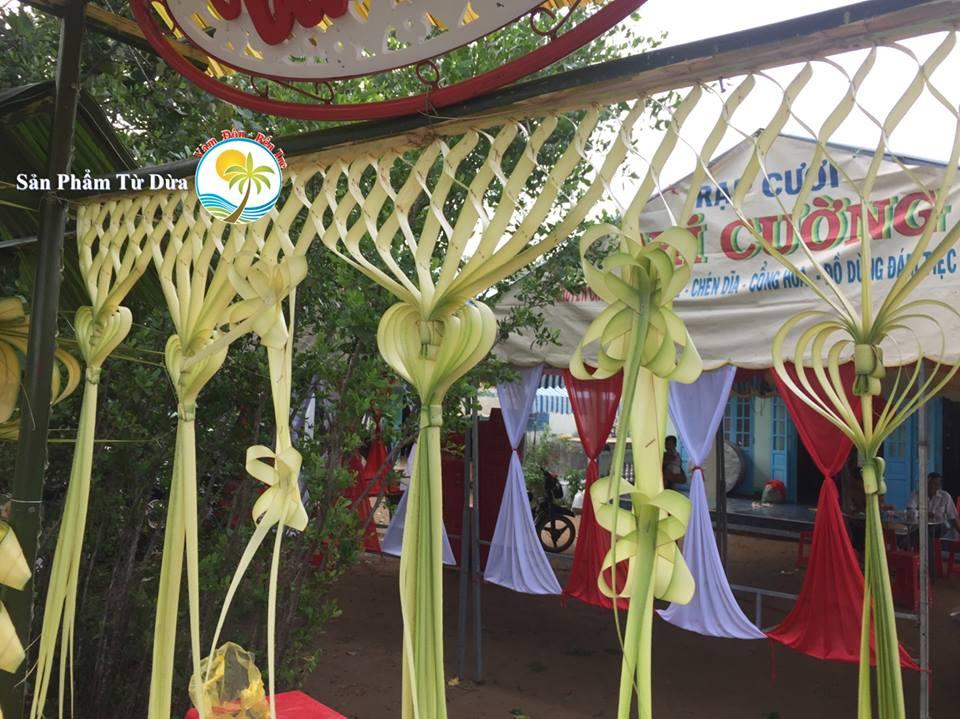 Cổng cưới lá dừa Miền Tây
