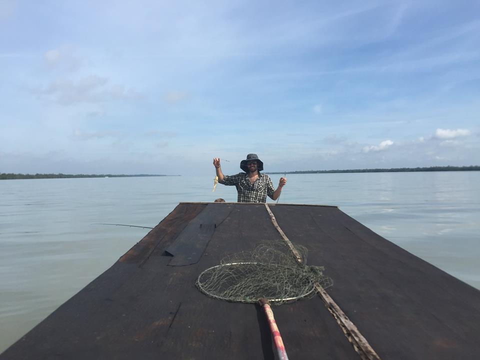 11091466 843827822360479 5695832523613984190 n Trải nghiệm thú vui câu cá tại Khu du lịch sinh thái Vàm Đồn - Bến Tre