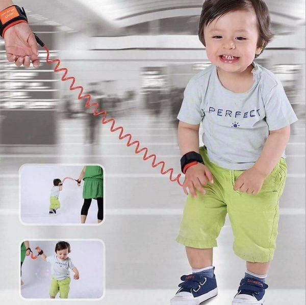 32105740 1801483766586075 7668818442362814464 n Dây dắt bé chống lạc lõi dây thép không gỉ có khóa chốt - Vòng dây giữ trẻ an toàn chất lượng cao