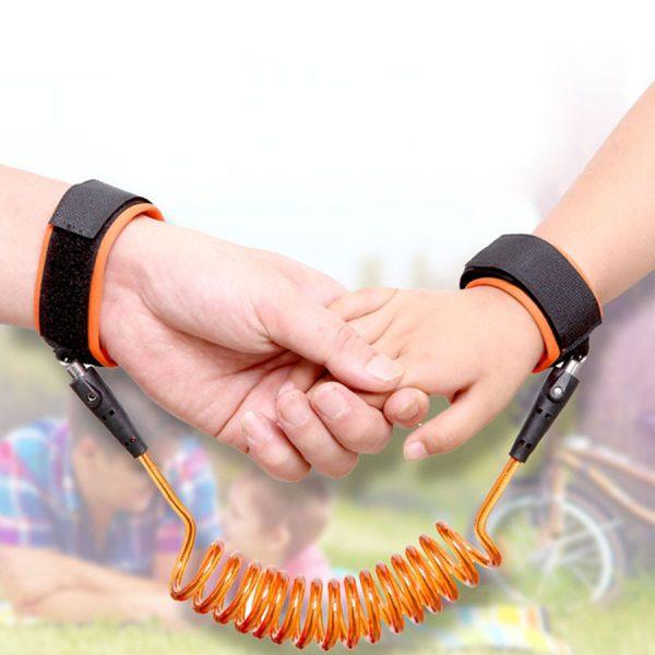 ava 1 Dây dắt bé chống lạc lõi dây thép không gỉ có khóa chốt - Vòng dây giữ trẻ an toàn chất lượng cao