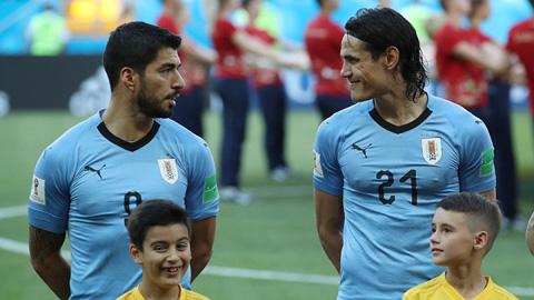 suarez1 Những gã thợ săn - Những anh hùng thầm lặng Cavani & Suarez - Fifa Worldcup 2018