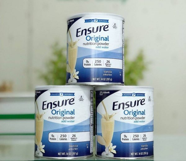 Sữa Ensure 400g có đường - Hàng nội địa Mỹ