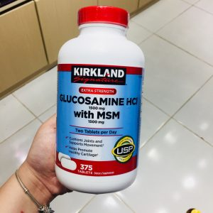 Viên uống bổ khớp glucosamine của Mỹ 375 viên