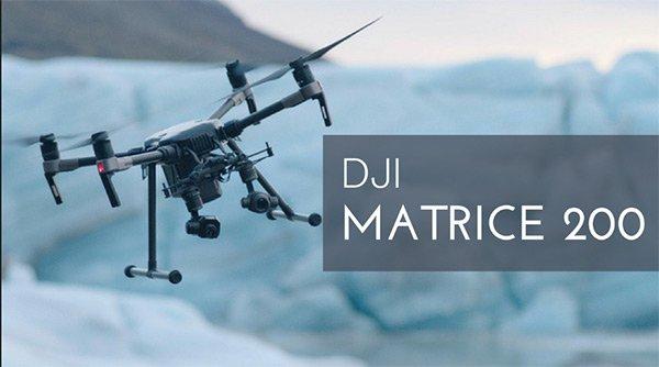 DJI Matrice 200 hiện đang chiếm lĩnh thị trường Flycam cao cấp sở hữu 3 loại hệ thống cảm biến tránh chướng ngại vật,