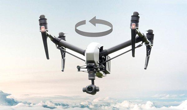 Flycam Inspire 2 có chế độ bay Spotlight Pro có 2 chế độ Quick Mode và Compositon Mode và có sẵn trong tất cả các chế độ bay thông minh (ActiveTrack, TapFly, Waypoint và Point of Interest)