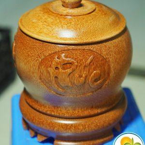 vỏ ấm bình trà bằng gỗ dừa