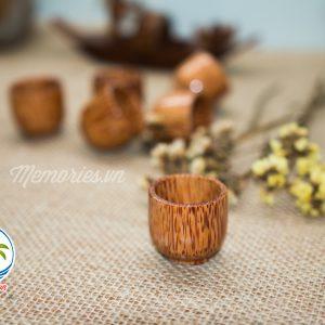 Chung ly chén uống rượu gỗ dừa