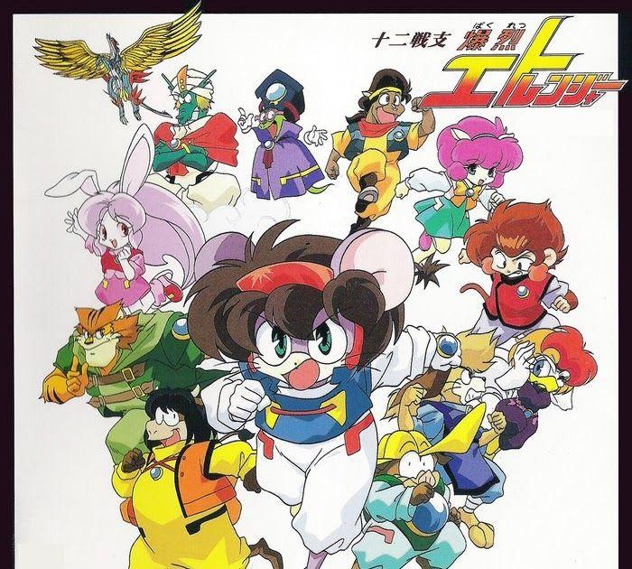 12 con giap Những phim hoạt hình Anime gắn liền với tuổi thơ của thế hệ 8x-9x (P1)
