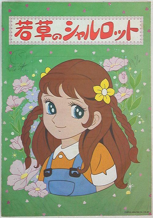 Co be Charlotte 1 Những phim hoạt hình Anime gắn liền với tuổi thơ của thế hệ 8x-9x (P1)