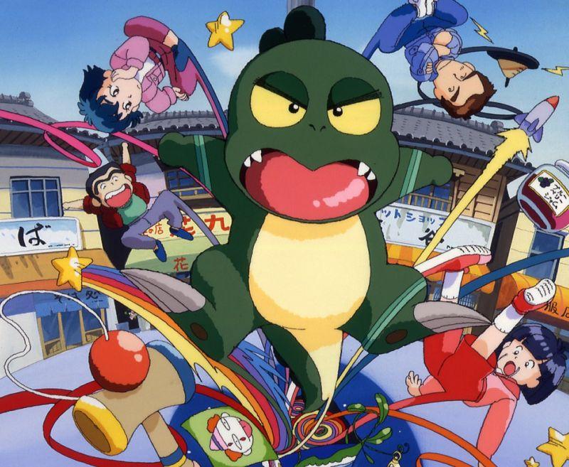 Khung long con tham an 1 Những phim hoạt hình Anime gắn liền với tuổi thơ của thế hệ 8x-9x (P1)