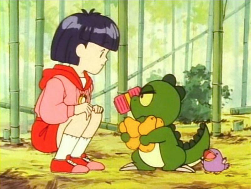 Khung long con tham an 3 Những phim hoạt hình Anime gắn liền với tuổi thơ của thế hệ 8x-9x (P1)